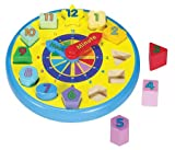 Melissa &amp; Doug Wooden Shape Sorting Clock