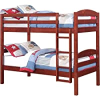 Mainstays Twin over Twin Wood Bunk Bed (Multiple Finishes)