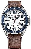 Tommy Hilfiger Men's 1791132 Casual Sport Analog Display Quartz Brown Watch