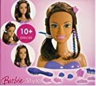 Barbie Brunette Style Styling Head 10+ Pieces