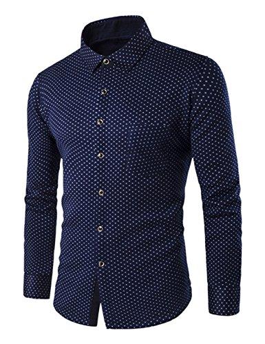 thinkmax-men-fleece-lining-dress-shirt-thermal-flannel-shirt-905-4xl