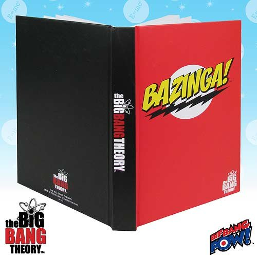 The Big Bang Theory BAZINGA! Red Journal - 1