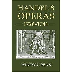 Handel's Operas, 1726-1741