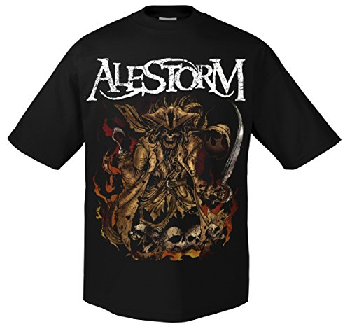 Alestorm We are Here to Drink 702240-Maglietta nero Large