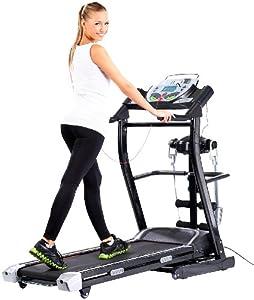 newgen medicals Premium-Fitness-Station mit entspannender Bandmassage