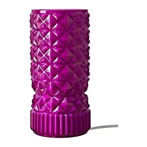 Table lamp, pink