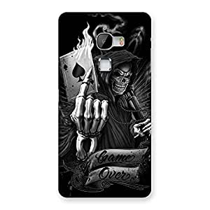 Premium Game Over Back Case Cover for LeTv Le Max