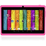 "7"" inch Touch Screen Dual core Allwinner A23 1.5GHz CPU Android 4.2.2 Tablet PC Dual camera 4GB HDD 512MB WiFi (Pink)"