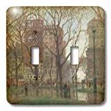lsp_127325_2 BLN Impressionist Fine Art Collection - Rainy Day, Madison Square New York by Paul Corn