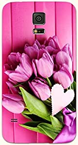 Lovely multicolor printed protective REBEL mobile back cover for Samsung Galaxy S5 / SM-G900I D.No.N-R-4895-S5