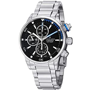 Maurice Lacroix Men's PT6008-SS002331 Pontos Black Chronograph Dial Watch from Maurice Lacroix