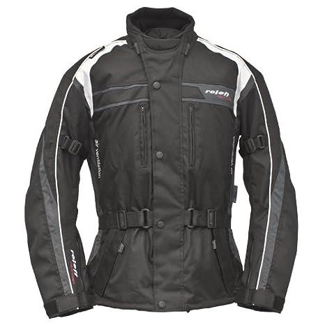 Roleff Racewear 5411 Blouson Moto Textile Roleff Macao, Noir/Gris/Blanc, XS