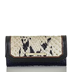 Soft Checkbook Wallet<br>Creme Carlisle