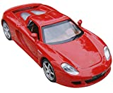 NuoYa001 NEW 1:32 Red Porsche Carrera GT sports Diecast Car Model Collection Sound&Light