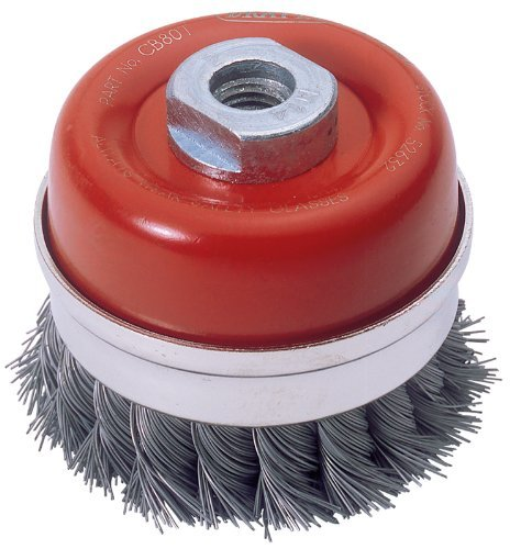Draper Expert 52632 80 mm x M14 Twist Knot Wire Cup Brush by Draper