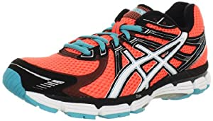 ASICS Women's GT-2000 Running Shoe,Electric Melon/White/Turquoise,9.5 M US