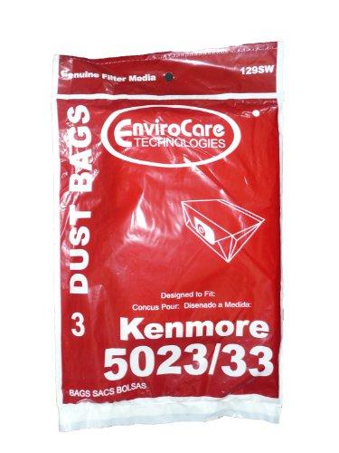 Kenmore Vacuum Bags style 5023 5033  12 Pack