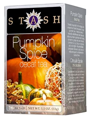 Decaffeinated Tea-Pumpkin Spice - 18 - Bag by Stash Tea Company