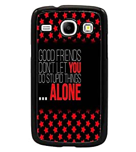 PrintDhaba Quote D-5936 Back Case Cover for SAMSUNG GALAXY CORE i8262 (Multi-Coloured)
