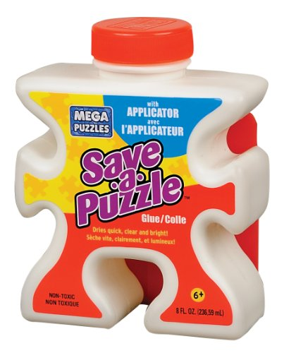 Mega Puzzles Save-a-Puzzle Glue, 8 Oz - 1