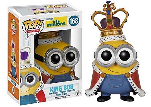 Funko POP! Minions Movie Vinyl Figure - King Bob #168