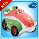 Pillow Pets Authentic Disney-Cars 18' Francesco Bernoulli, Folding Plush Pillow- Large