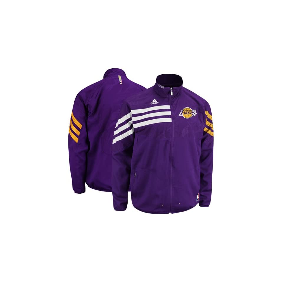 Adidas Los Angeles Lakers On Court Warmup Jacket