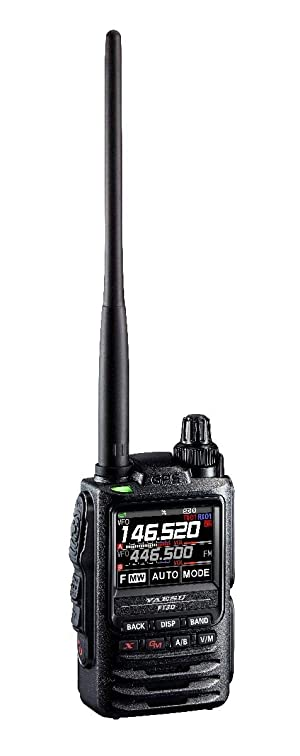 Yaesu FT-3DR C4FM/FM 144/430MHz Dual Band 5W Digital Transceiver with Touch Screen Display (Color: Black, Tamaño: Small)