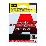 デュエル(DUEL) ARMORED F アジ・メバル 100M0.2号 MP H4125-MP MP:ミルキーピンク 0.2号