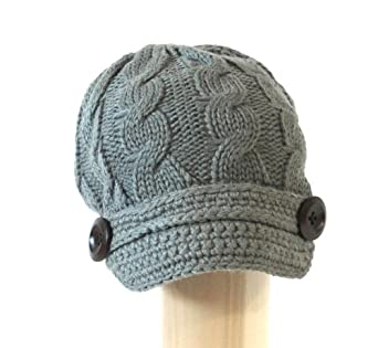 Free Knitting Pattern Baby Newsboy Hat : FREE KNITTING PATTERN BABY NEWSBOY HAT - VERY SIMPLE FREE KNITTING PATTERNS