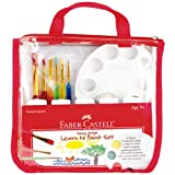 Faber-Castell - Young Artist Learn to Paint Set - Premium Art Supplies For Kids
