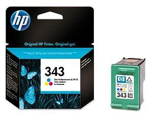 HP 343 - Tri-color Inkjet Print Cartridge (C8766EE)