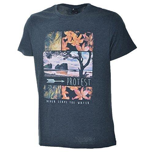 Protest - Maglietta sportiva -  uomo Grau XL