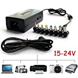 K9Y 90w 15V-24V Laptop Universal Adapter AC Charger For HP IBM Dell Acer Toshiba Compaq