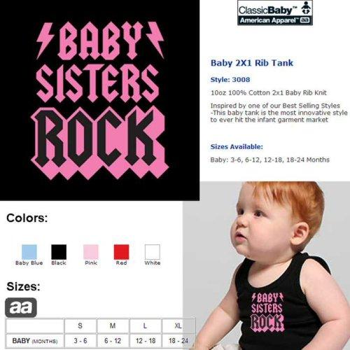 Baby Sisters Rock Baby 2X1 Rib Tank - Buy Baby Sisters Rock Baby 2X1 Rib Tank - Purchase Baby Sisters Rock Baby 2X1 Rib Tank (Classic Baby, Classic Baby Boys Shirts, Apparel, Departments, Kids & Baby, Boys, Shirts, Boys Shirts)