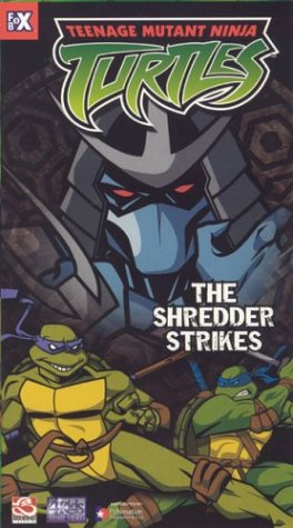 Teenage Mutant Ninja Turtles - The Shredder Strikes [VHS] - 1