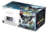 echange, troc Console PSP blanche + Lego batman le jeu video