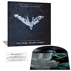Limited Edition Vinyl Soundtrack - The Dark Knight Rises