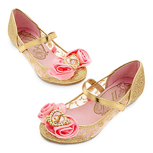 Disney Store Belle Costume Shoes ~ Beauty and The Beast
