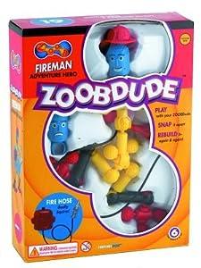 Great Gizmos ZoobDude - Fireman