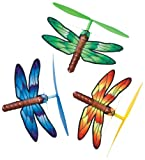 Hearth Song Wind Up Winged Copters- dragonfly