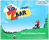 Clif Kid Organic ZBar Iced Oatmeal Cookie, 1.27oz bar, 18 Count