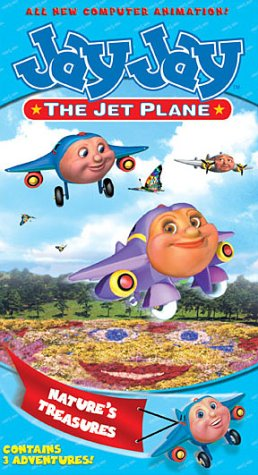 Jay Jay The Jet Plane - Nature's Treasures [VHS]