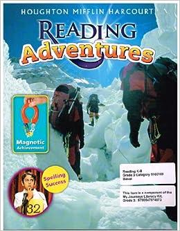 journeys reading adventures student edition magazine grade 3 9780547865843