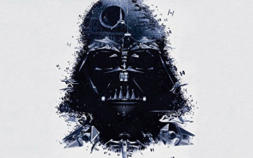 Akhuratha Designs Movie Star Wars Darth Vader Death Star HD Wall Poster