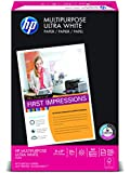 HP Everyday Papers HP Multipurpose Ultra White, 20-Pound, 11 by 17-Inch, 96 Bright, 500 Sheets/1 Ream (172001)