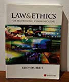 img - for Law & Ethics for professional communicators book / textbook / text book