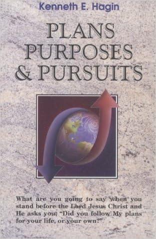 Plans Purposes & Pursuits