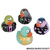 """Rhode Island Novelty 2"""" Zombie Rubber Duckies (12 Piece)"""