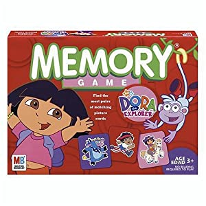Memory Game - Dora the Explorer Edition